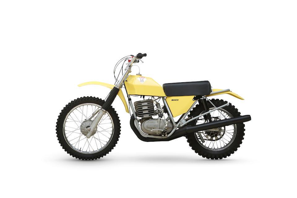 1974 Maico 450cc Moto-Cross Frame no. 392293 Engine no. K440829