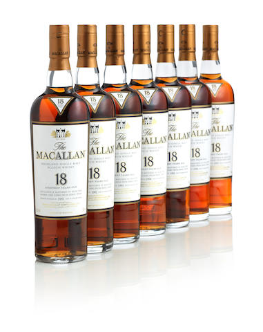 The Macallan-18 year old-1991 The Macallan-18 year old-1992 The Macallan-18 year old 1993 The Macallan-18 year old-1994 The Macallan-18 year old-1995 The Macallan-18 year old-1996 The Macallan-18 year old-1997