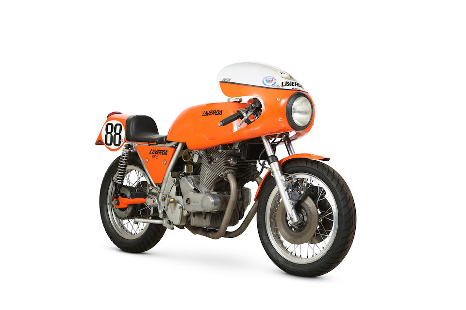 1975 Laverda 750SFC Elettronica Frame no. LAV.750C1*18320* Engine no. 750*18320*