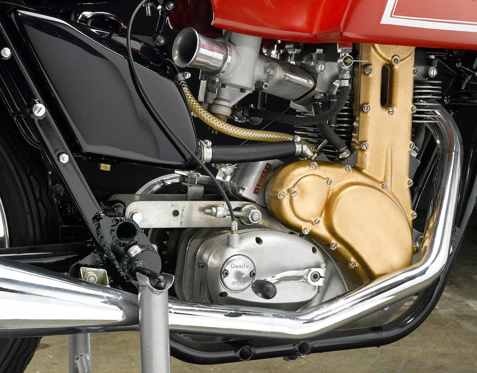 The ex-Steve Jolly, 1962 Matchless 498cc G50 Racing Motorcycle Frame no. 1857