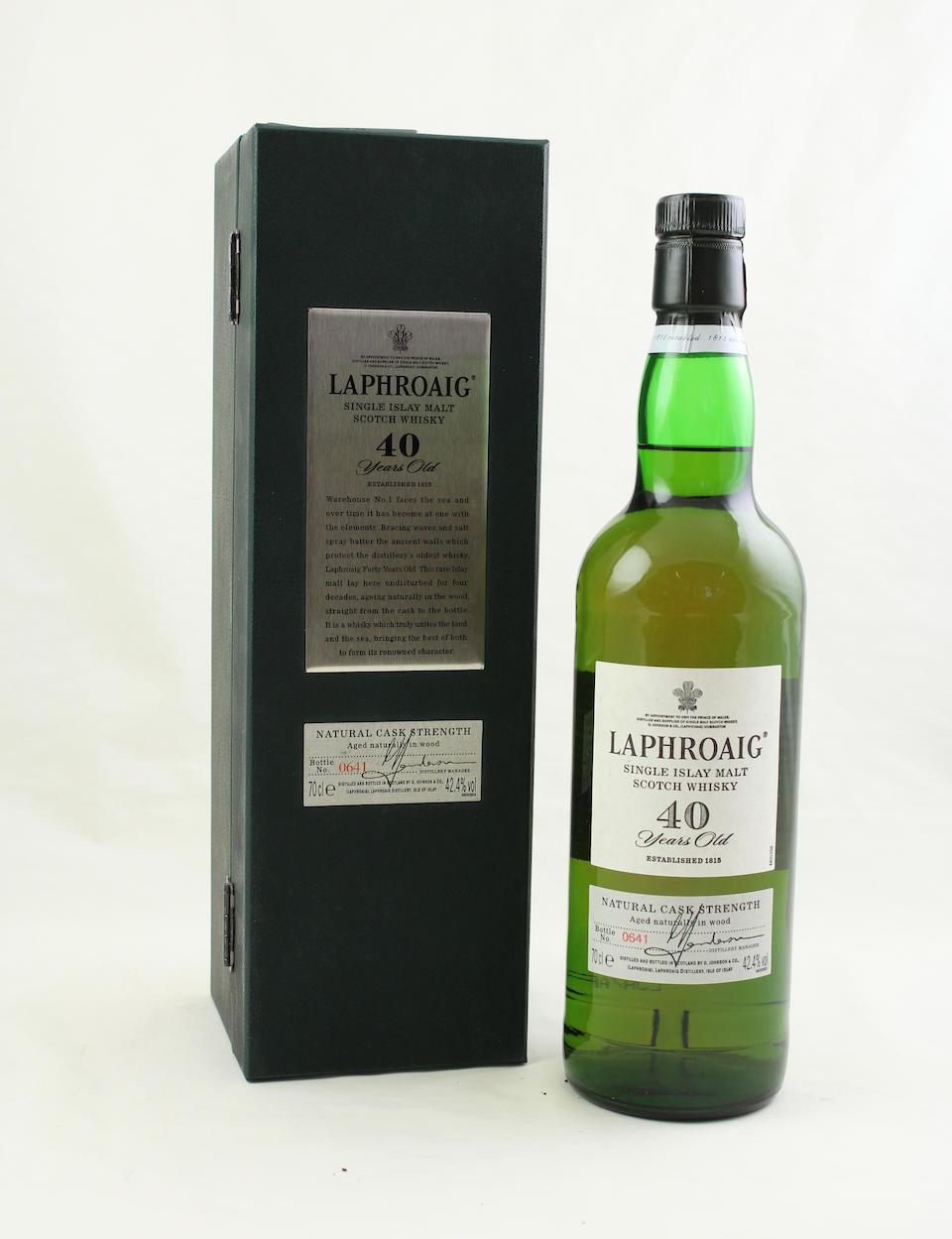 Laphroaig-40 year old-1960