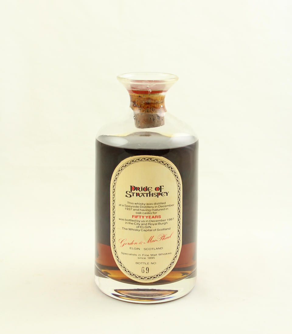 Pride of Strathspey-50 year old-1937