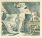 Louis Icart (French, 1888-1950) 'SOUS LE TOIT' (ATTIC ROOM), 1940