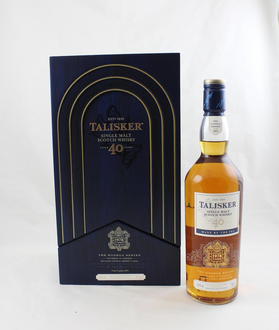 Talisker The Bodega Series-40 year old-1978