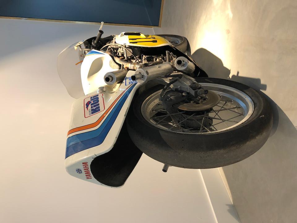The ex-Boet van Dulmen,1980 Yamaha TZ500G Grand Prix Racing Motorcycle Frame no. 4A0-000154 Engine no. 4A0-000155