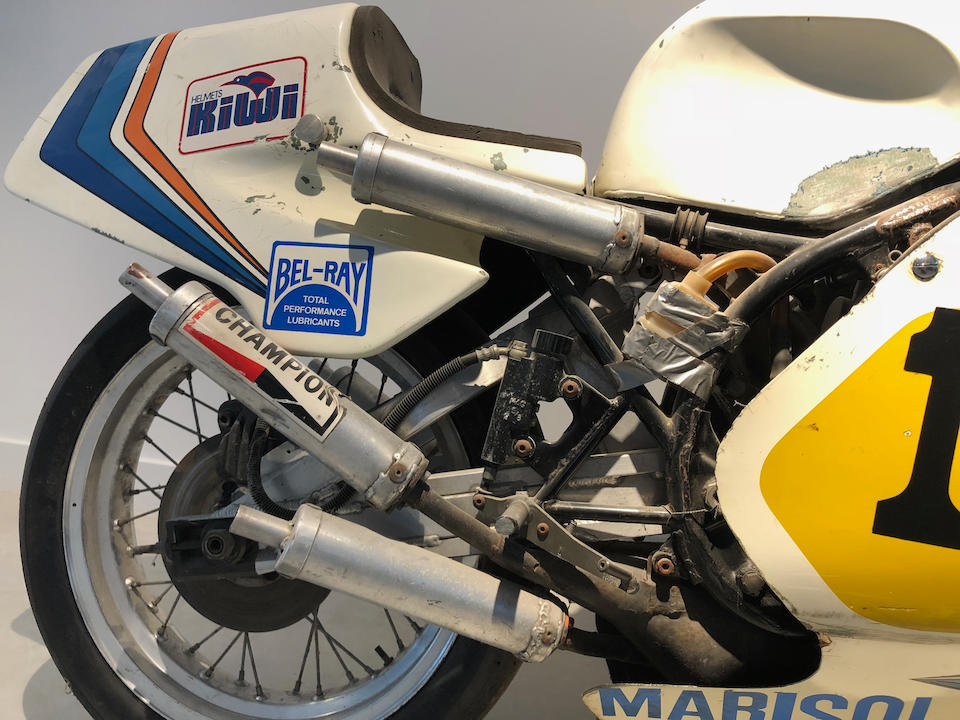 The ex-Boet van Dulmen,1980 Yamaha TZ500G Grand Prix Racing Motorcycle Frame no. 4A0-000154 Engine no. 4A0-000155