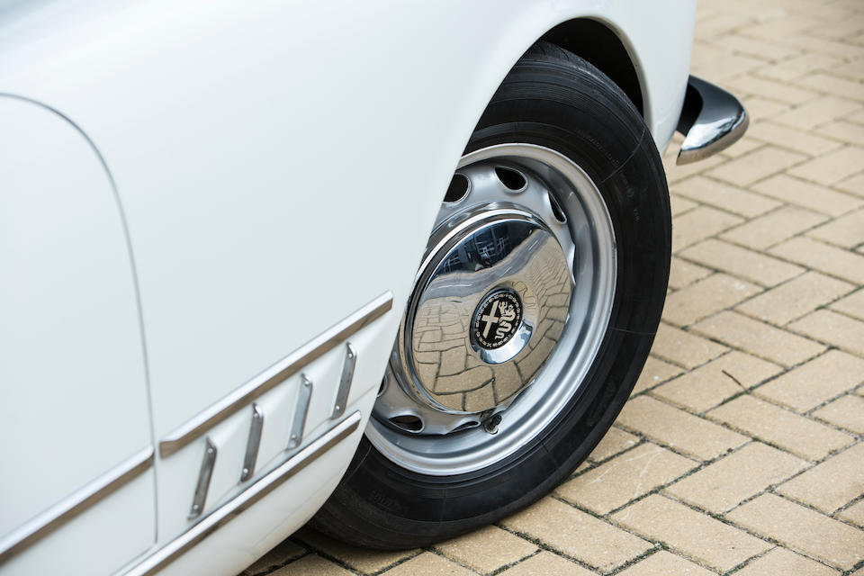 1959 Alfa Romeo  2000 Spider  Chassis no. AR 102.04.00828