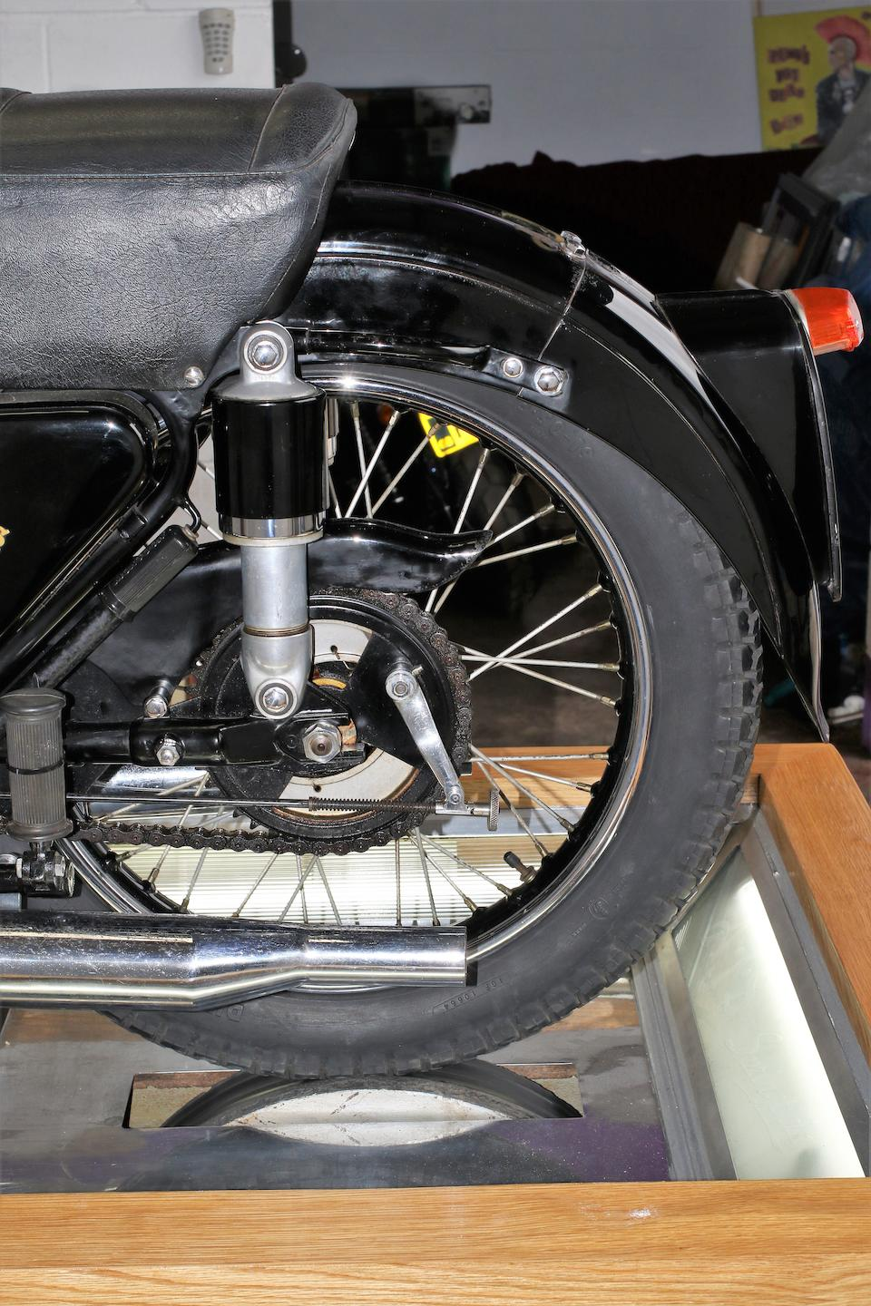 1952 AJS 498cc Model 20 Springtwin Cutaway Model Frame no. to be advised Engine no. R9/4