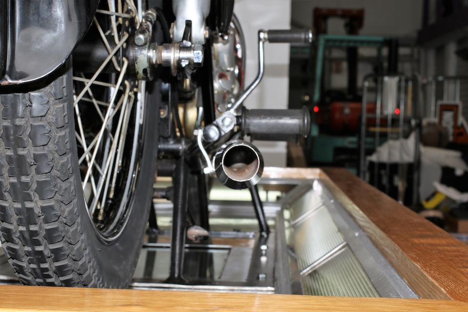 1952 AJS 498cc Model 20 Springtwin Cutaway Model Frame no. to be advised Engine no. R9/4