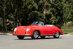 Rare and desirable,1955   Porsche 356 Pre-A Speedster 1600  Chassis no. 80990 Engine no. 60070 (see text)