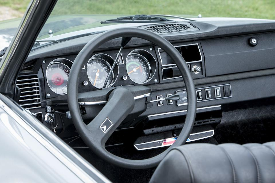 1973 Citroën DS23 IE Décapotable  Chassis no. DSFG 00FG0041