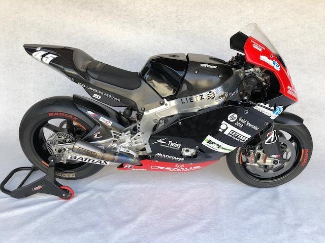 Ex-Colin Edwards, Martin Bauer,2012 Suter MMX1 Grand Prix Racing Motorcycle Frame no. 054-006 Engine no. 104EA27116E7