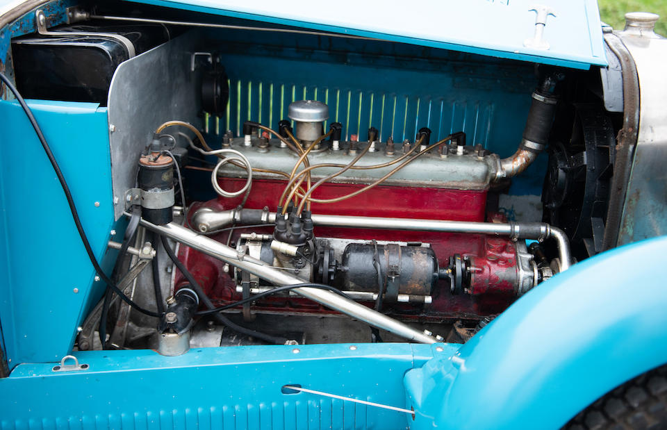 1930 Derby K4 1.8-Litre Course  Chassis no. 124 Engine no. 20865
