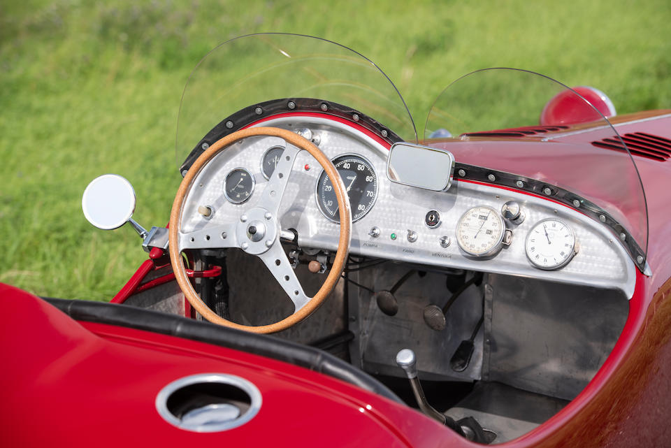 Mille Miglia participant in 1948,1948 FIAT-SIATA 750  Chassis no. 72001-48