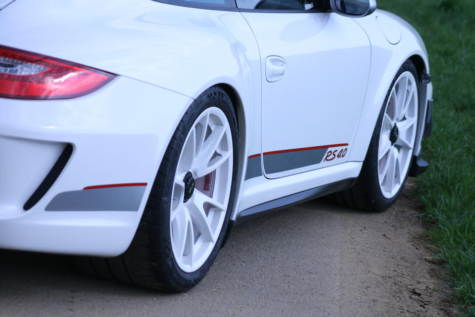 Number 416 of only 600 built,2012  Porsche  997 GT3 RS 4.0 Coupé  Chassis no. WP0ZZZ99ZBS785369