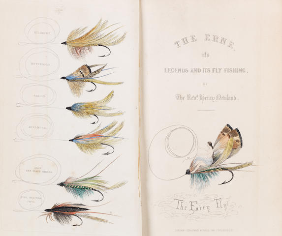 NEWLAND (HENRY) The Erne, its Legends and its Fly-Fishing, first edition, Chapman and Hall, 1851
