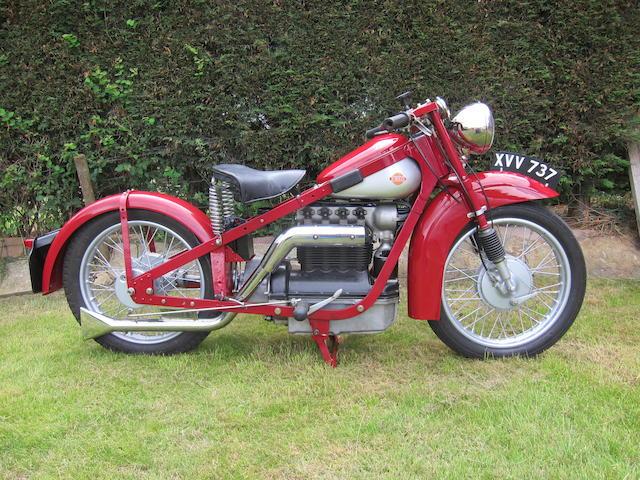 1939 Nimbus 746cc Model C Frame no. 5106 Engine no. 5106
