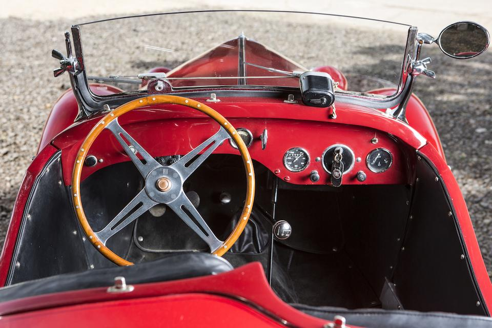 Formerly part of the Collection of L Scott Bailey, founding Editor and Publisher of Automobile Quarterly,1933 Fiat  508 Balilla Coppa d'Oro Spider  Chassis no. 021030