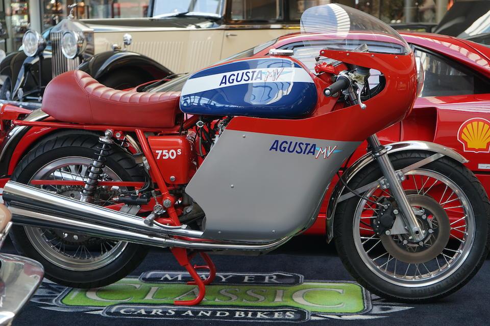 1968 MV Agusta 861cc 'Magni' Frame no. MV4C60-199 016 Engine no. 199-017
