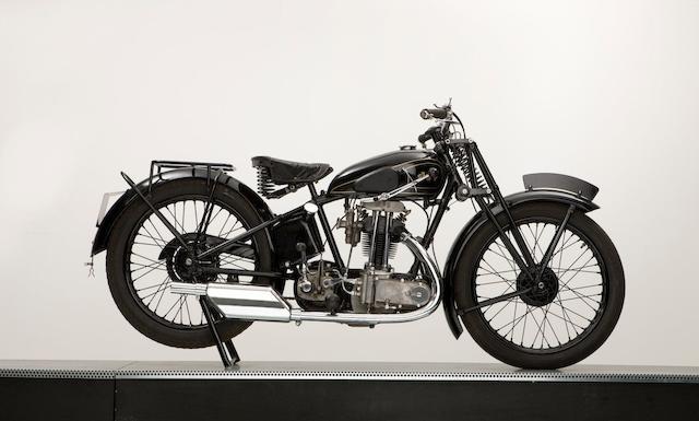 1930 AJS 248cc Model R12 Frame no. R12 13750 Engine no. 2665