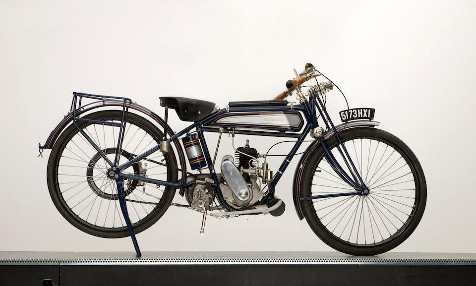 1925 Automoto 125cc Frame no. 50847 Engine no. A811564