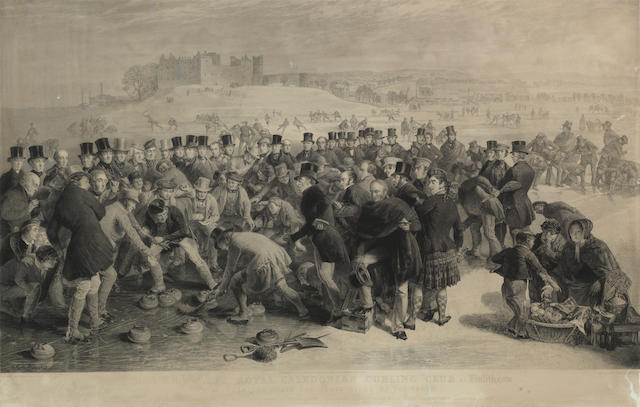 After Charles Lees, RSA The Grant Match of the Royal Caledonian Curling Club at Linlithgow