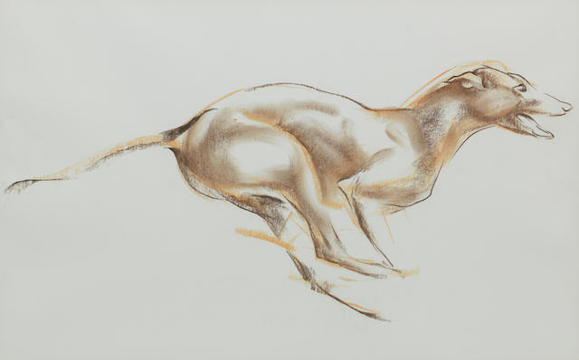 John Rattenbury Skeaping R.A. (British, 1901-1980) The Greyhound