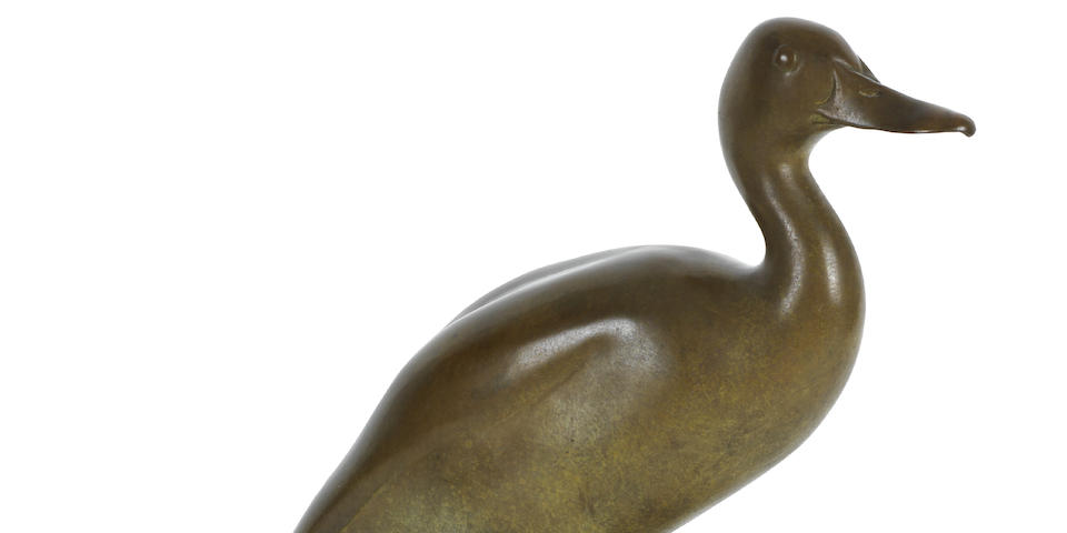 Adrian Sorrell (British, born 1932), A Mallard duck