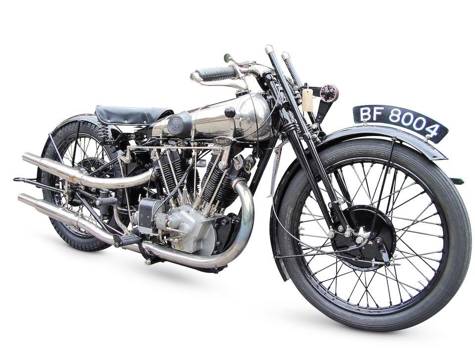 1927 Brough Superior 981cc SS100 Pendine Frame no. R3521 Engine no. KTOR/I 71724/SD
