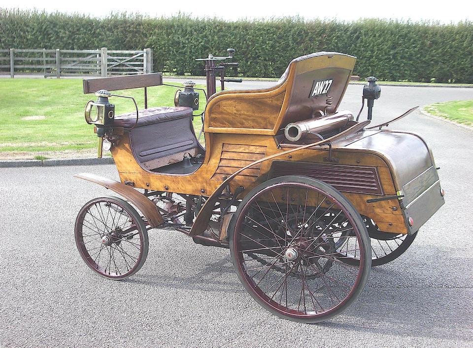 1899 Star 3 1/2hp Vis-à-vis  Chassis no. 4