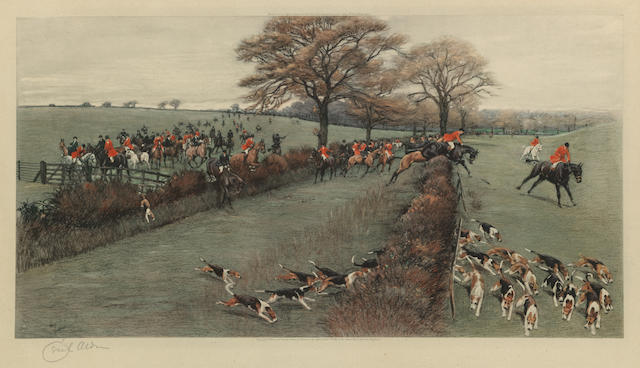 After Cecil Charles Windsor Aldin, RBA The South Berks Hunt