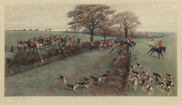 After Cecil Charles Windsor Aldin, RBA The South Berks Hunt