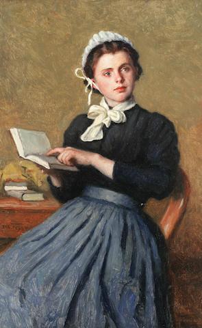 Jacques Eugène Feyen (French, 1815-1908) La lecture interrompue