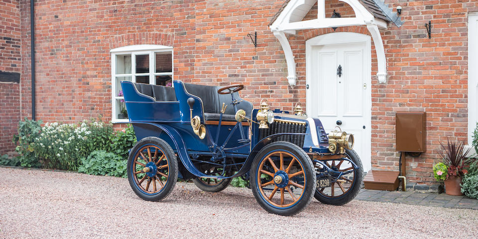 1904 Renault 9hp Type T Rear-entrance Tonneau  Chassis no. 3107