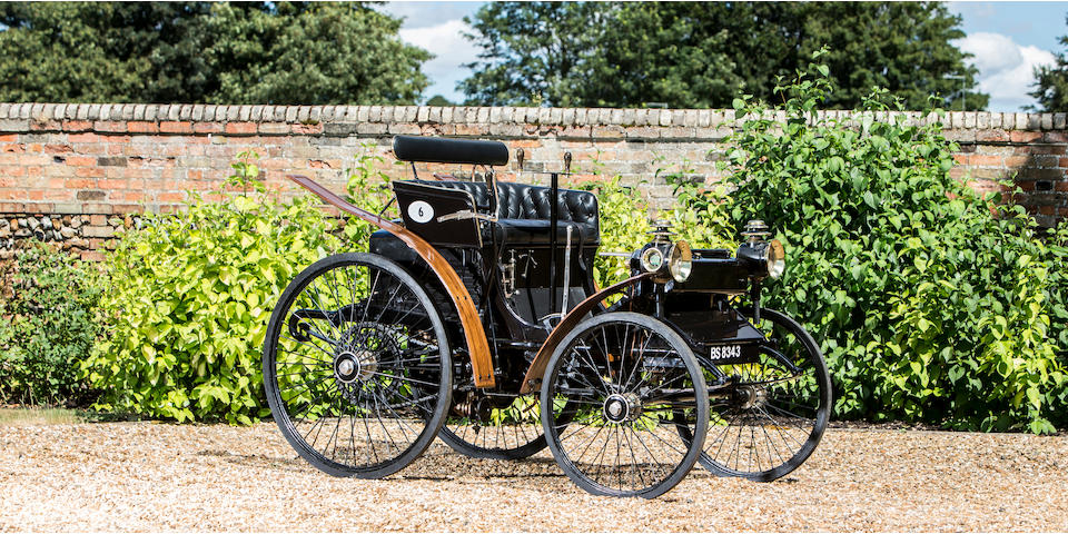 1894-5 Peugeot Type 5 2½hp Twin-cylinder Two-seater  Chassis no. 164