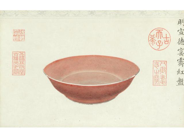 Anonymous (19th/20th century) Porcelain Studies (2)