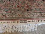 A central Persian silk rug 181 x 124cm