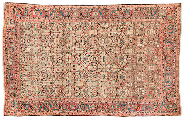A fine Bakshaish carpet North West Persia, 500cm x 400cm