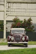 1937 FIAT 1500 Cabriolet  Chassis no. 017666