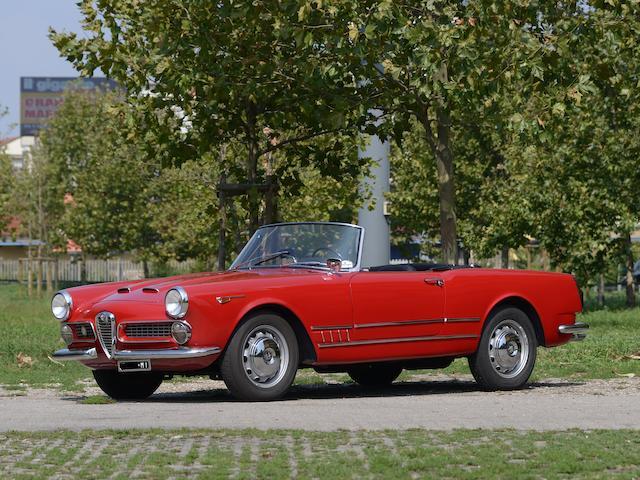 1960  Alfa Romeo  2000 Spider  Chassis no. AR 102.04.01339