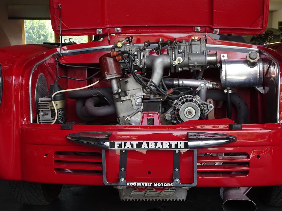 1958  FIAT Abarth Allemano Spider  Chassis no. 100 603.303 Engine no. 100.000 449 137