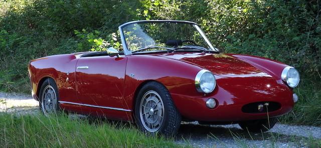 1958  FIAT Abarth Allemano Spider  Chassis no. 100 603.303 Engine no. 100.000 449 137