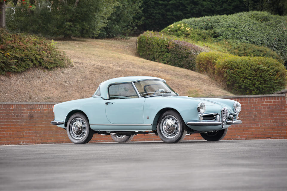 1957 Alfa Romeo Giulietta Spider with Factory Hardtop  Chassis no. AR 1495 02051