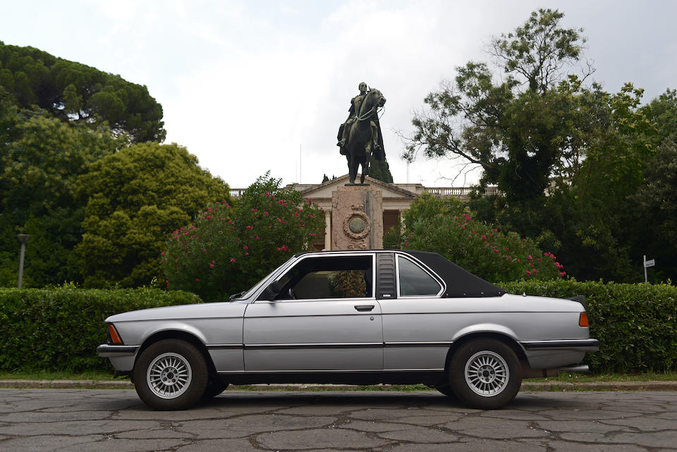 1978 BMW 320 Cabriolet  Chassis no. 6652336