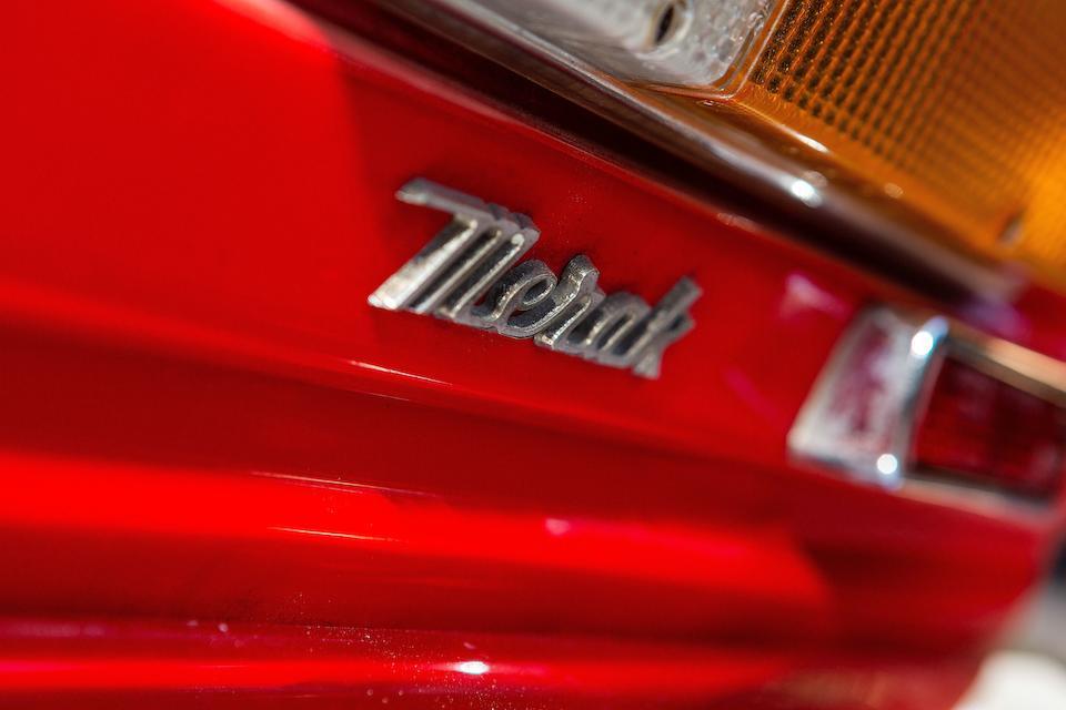 1973 Maserati Merak Berlinetta  Chassis no. AM 122 0242