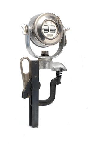 A Ferodo brake-testing meter by Tapley & Co.