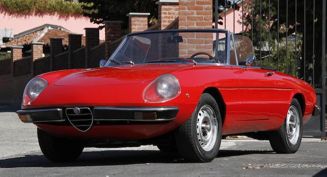 1973 Alfa Romeo  Spider 1300 Junior  Chassis no. AR 1842621 Engine no. AR00530 269223