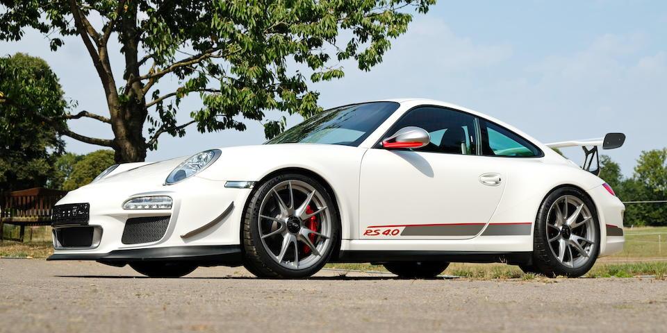 2011 Porsche  911 GT3 RS 4.0 Coupé  Chassis no. WPOZZZ99ZBS785424