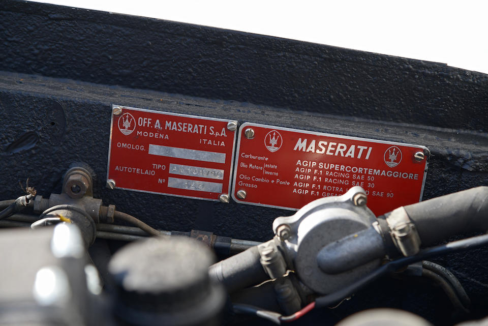 1965  Maserati  Sebring 'Series II' 3700 Coupé  Chassis no. AM101 10153