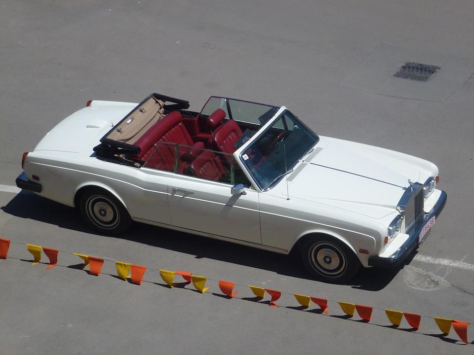 1979  Rolls-Royce  Corniche Convertible  Chassis no. DRX50111